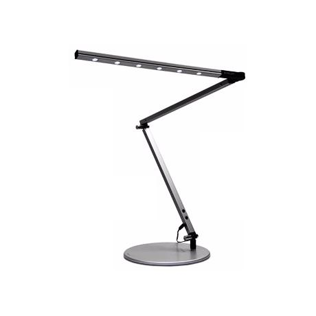 Gen 2 Z-Bar Silver Daylight High Power LED Desk Lamp