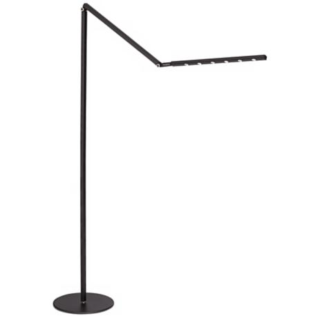 Gen 2 i-Tower Metallic Black Daylight LED Floor Lamp