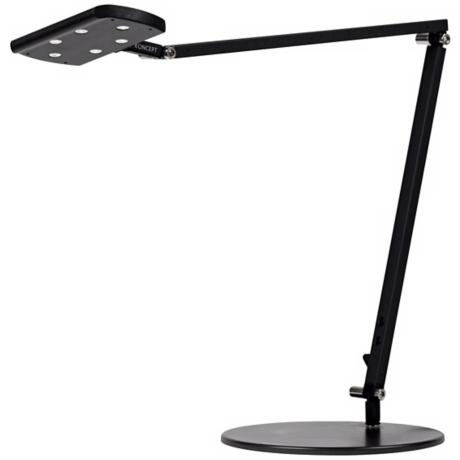 Gen 2 IceLight Metallic Black Warm White LED Desk Lamp