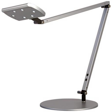 Gen 2 IceLight Silver Finish Warm White LED Desk Lamp