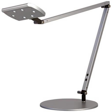 Gen 2 IceLight Silver Daylight LED Desk Lamp