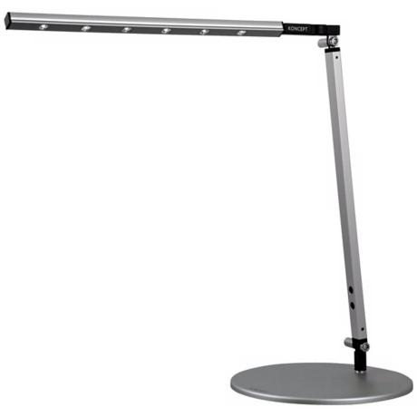Gen 2 i-Bar Silver Warm White High Power LED Desk Lamp