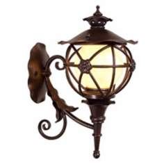 "Varaluz Matador 16"" High Outdoor Wall Lantern"