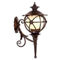 "Varaluz Matador 25 1/4"" High Outdoor Wall Lantern"