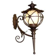 "Varaluz Matador 37"" High Outdoor Wall Lantern"