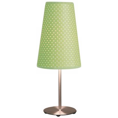 Green Dot Accent Table Lamp
