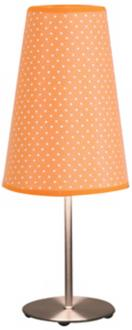 Orange Polka Dot Lamp