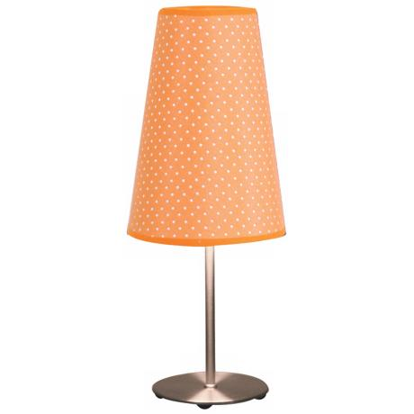 Orange Dot Accent Table Lamp