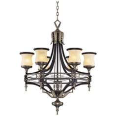 "Georgian Court Collection 31"" Wide Chandelier"