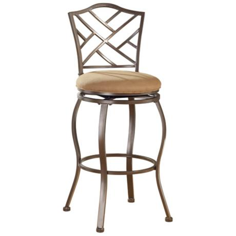 "Hillsdale Hanover Swiveling 24"" High Counter Stool"