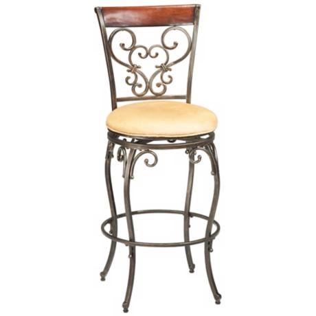 "Hillsdale Knightsbridge Swivel 26"" High Counter Stool"