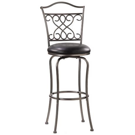 "Hillsdale Wayland Swivel 30"" High Bar Stool"