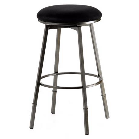 Hillsdale Sanders Black Adjustable Bar or Counter Stool