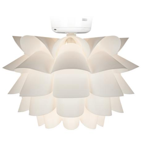 White Flower Ceiling Fan Light Kit K9774 Www