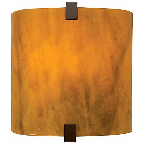 "Tech Lighting 7 1/2"" High Beach Amber Essex Wall Sconce"