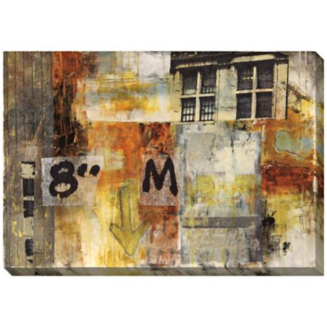 "Urbane I Giclee Print Indoor/Outdoor 48"" Wide Wall Art"
