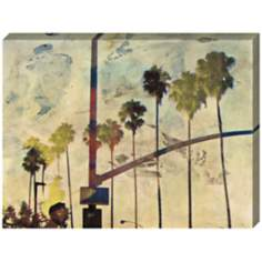 "Riviera Drive III Giclee Indoor/Outdoor 48"" Wide Wall Art"