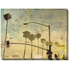 "Riviera Drive IV Giclee Indoor/Outdoor 48"" Wide Wall Art"