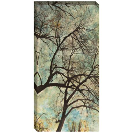 "Abstract Trees VI Giclee Indoor/Outdoor 48"" High Wall Art"
