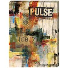 "Pulse I Giclee Print Indoor/Outdoor 48"" High Wall Art"