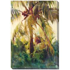 "Wild Coconut II Limited Edition Giclee 48"" High Wall Art"