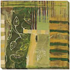 "Vine Tapestry I Limited Edition Giclee 40"" Square Wall Art"