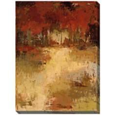 "Fall Foliage I Giclee Print Indoor/Outdoor 48"" High Wall Art"