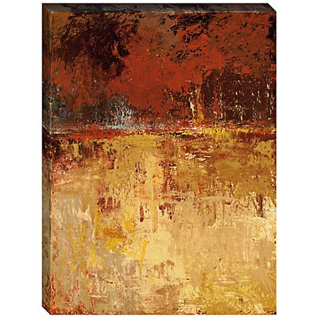 Fall Foliage II Giclee Print Indoor/Outdoor Wall Art