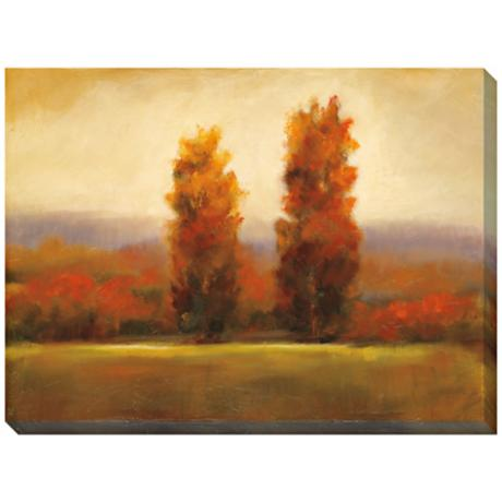 "Autumn Dusk I Giclee Print Indoor/Outdoor 48"" Wide Wall Art"