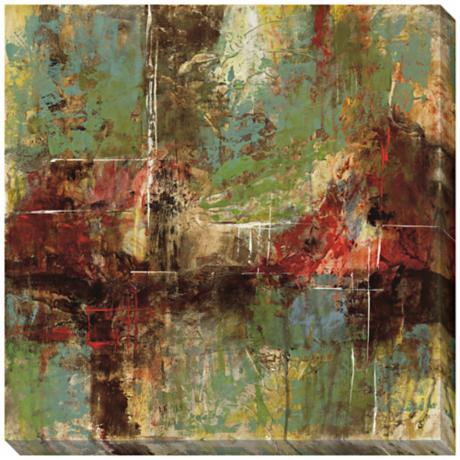 "Shaping Matter I Giclee Indoor/Outdoor 40"" Square Wall Art"