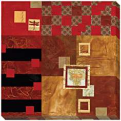 Moving Layers and Squares I Limited Edition Giclee Wall Art