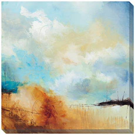 "Desert Skies I Limited Edition Giclee 40"" Square Wall Art"