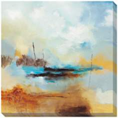 "Desert Skies II Limited Edition Giclee 40"" Square Wall Art"