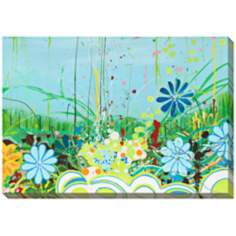 "We Think We Know I Limited Edition Giclee 48"" Wide Wall Art"