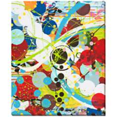 "Fire in the Bubble I Limited Edition 44"" High Wall Art"