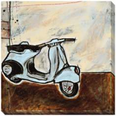 "Vespa I Limited Edition Giclee 40"" Square Wall Art"