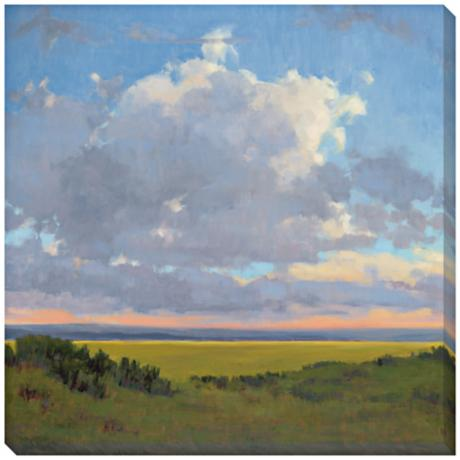 "Afternoon Sky I Limited Edition Giclee 40"" Square Wall Art"