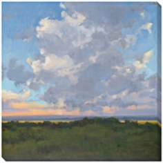 "Afternoon Sky II Limited Edition Giclee 40"" Square Wall Art"
