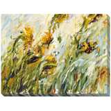 "Sunflower Stare II Limited Edition Giclee 48"" Wide Wall Art"