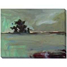 "Nightfall II Limited Edition Giclee 48"" Wide Wall Art"