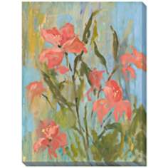 "Freesia II Limited Edition Giclee 48"" High Wall Art"