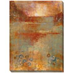 "Umber View II Limited Edition Giclee 48"" High Wall Art"