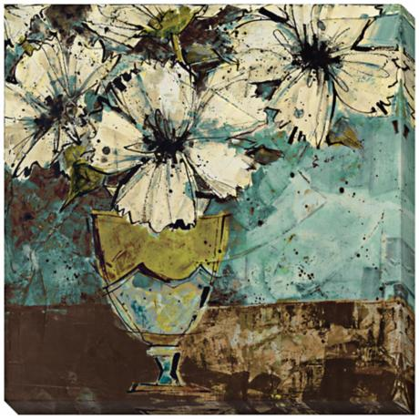 "Arrangement II Limited Edition 40"" Square Wall Art"