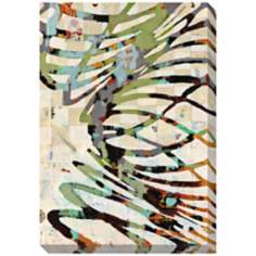 "Twist II Limited Edition Giclee 46"" High Wall Art"