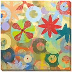 "Sweet Bloom I Limited Edition Giclee 40"" Square Wall Art"