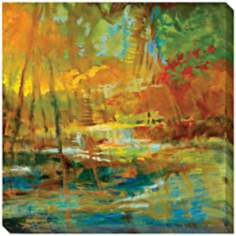 "Late Summers Expectation I Indoor/Outdoor 40"" Wide Wall Art"