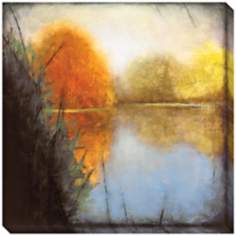 "Autumn Marsh I Indoor/Outdoor 40"" Square Wall Art"