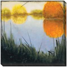 "Autumn Marsh II Indoor/Outdoor 40"" Square Wall Art"