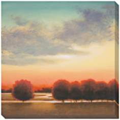 "Afternoon Meadow II Indoor/Outdoor 40"" Square Wall Art"