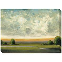 "Good Earth I Indoor/Outdoor 48"" Wide Wall Art"